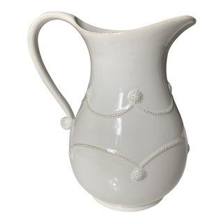 Juliska Berry & Thread Ceramic Pitcher For Sale