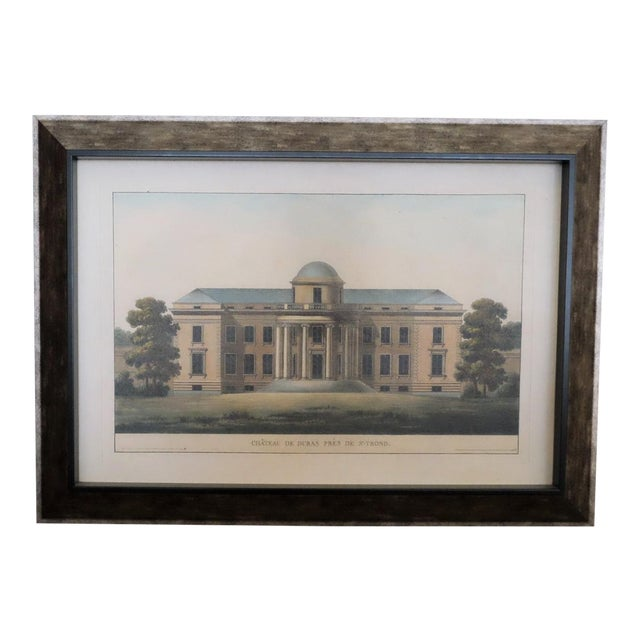 Architectural Rendering With Resin Frame For Sale