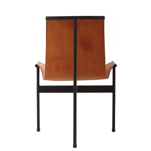 Leather Sling 3 Leg Zaha Chair For Sale - Image 4 of 5