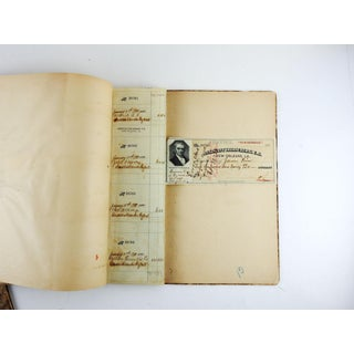 1890's New Orleans Us Marshalls Office Check Books - a Pair Preview