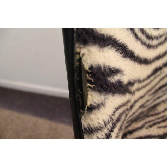 Chromcraft Mid-Century Zebra Bar Stools - Set of 6 - Image 7 of 10