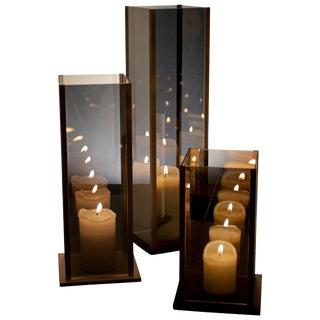 Arturo Erbsman Kaleido, Original Three Candleholders Set For Sale