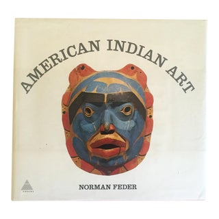 "Vintage 1965 1st Edtn ""American Indian Art"" Cultural Arts Hardcover Book For Sale"