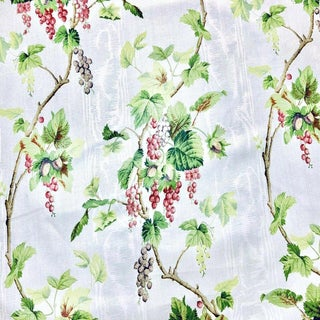 Jean Monro Nuts & Berries Chintz Designer Fabric by the Yard For Sale