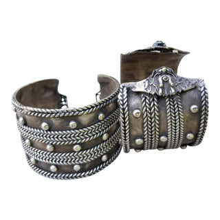 Miao Tribal Silver Brcelet For Sale