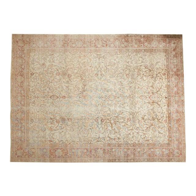 """Vintage Distressed Sivas Carpet - 8' x 10'10"""" For Sale"""