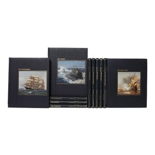The Seafarers Time Life Book Set - Set of 11 For Sale