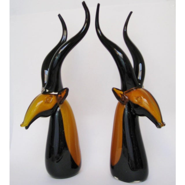 Vintage Murano Antelopes - A Pair - Image 3 of 8