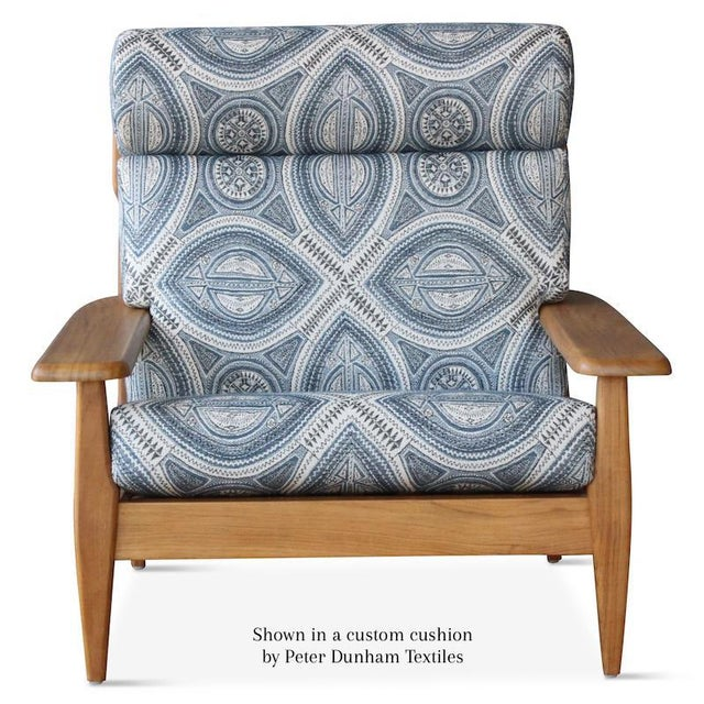 Wood Outdoor Formosa Armchair For Sale - Image 7 of 8
