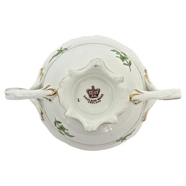 English Soup Cups & Saucers - Set of 6 - Image 9 of 10