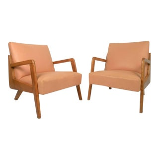 Vintage Modern Lounge Chairs - a Pair For Sale