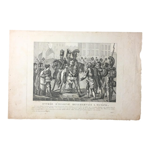 19th C. French Engraving - Image 1 of 7