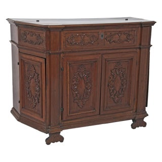 18th Century Northern Italian Carved Wooden Credenza