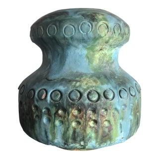 Vintage Italian Painted Vase