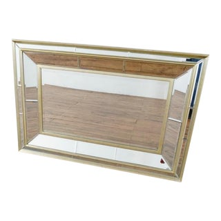 Bassett Mirror Company, Beveled Floor Mirror For Sale