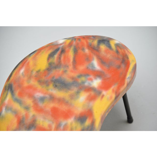 Kidney Shaped Tables France 1960 - a Pair For Sale - Image 6 of 9