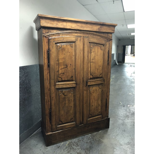 Vintage Pine Armoire - Image 2 of 10