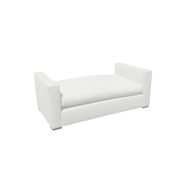 """Slant LA Custom to Order """"The White Series"""" Collection Daybed For Sale - Image 4 of 5"""