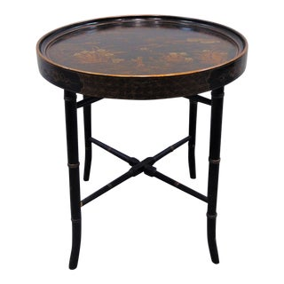 Chinoiserie Tray Top Table For Sale