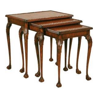 Traditional Pasargad N Y Nesting Tables - Set of 3 For Sale
