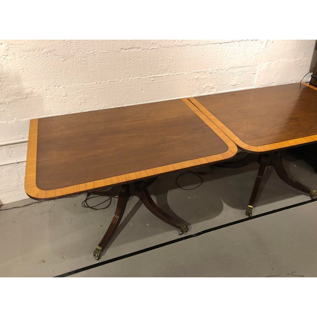 Vintage Queen Ann Convertible Pedetstal Table For Sale - Image 10 of 13