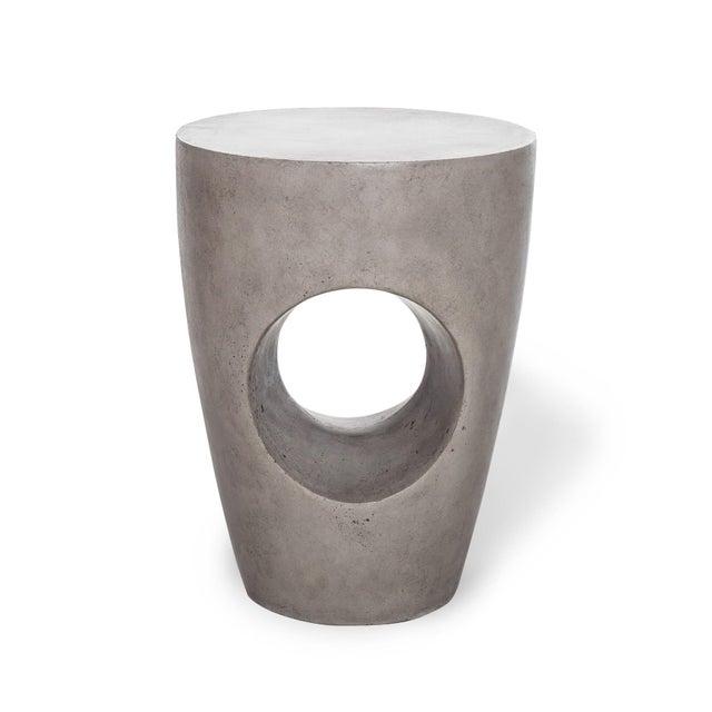 Dark Gray Marvin Stool, Dark Grey For Sale - Image 8 of 8