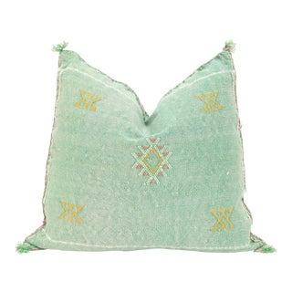 Moroccan Sabra Cactus Silk Pillow Cover
