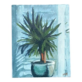 Beth Downey Potted Plant Painting For Sale