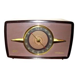 1955 Mid-Century Art Deco Rca Victor Radio For Sale