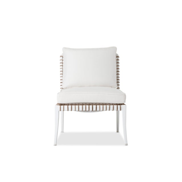 Not Yet Made - Made To Order Delta Beta Armless Chair in White For Sale - Image 5 of 5