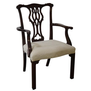 Baker Historic Charleston Chippendale Armchair