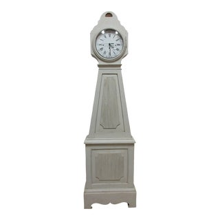 Swedish Gustavian Style Mora Clock For Sale
