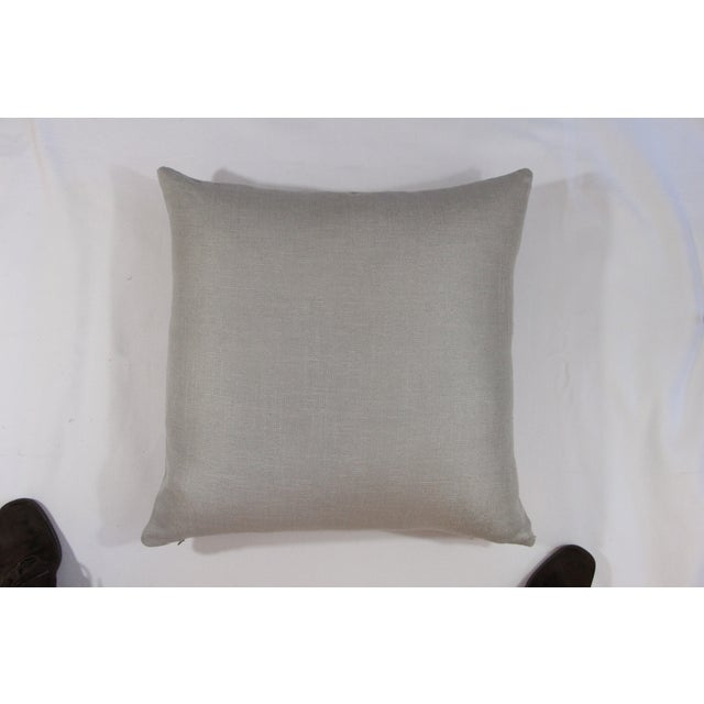 Silver Linen Pillow - Image 2 of 5