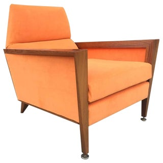 Mid Century Modern Lounge Chair Manner of Jens Risom