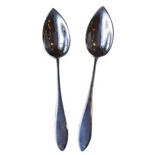 Gorham Sterling Fruit Spoons - A Pair For Sale