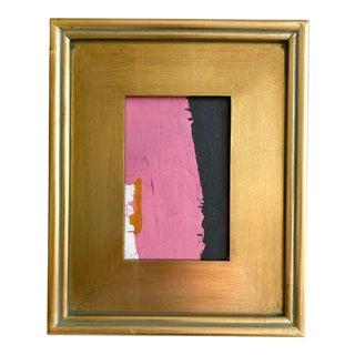 "Jessalin Beutler ""Umbrella's Edge"" 2021 Framed Mini Painting For Sale"