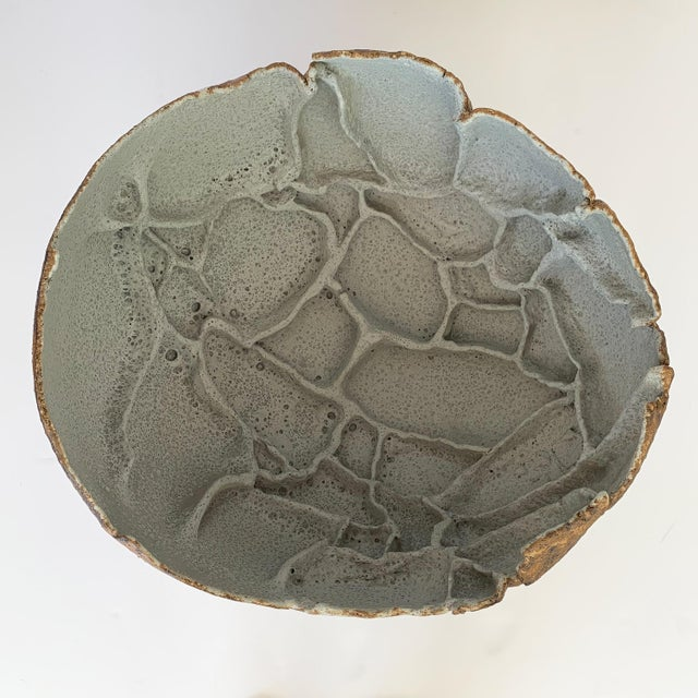 Monumental Stoneware Vessel or Bowl by Michael Becker For Sale - Image 11 of 13