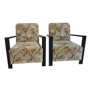 Art Deco Club Chairs - A Pair