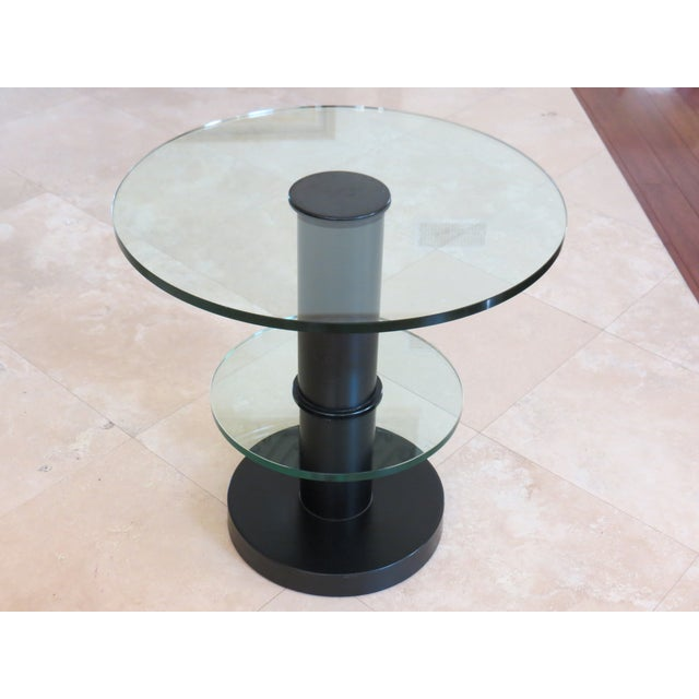 Fontana Arte Gio Ponti Design Round Side/End Table For Sale - Image 7 of 10