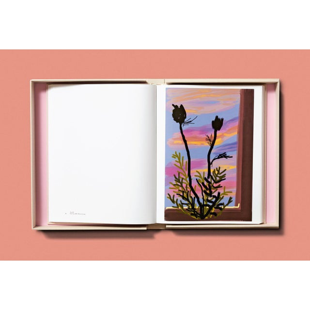 """TASCHEN Books Autographed David Hockney """"My Window"""" Painting Collection, Collectors Edition For Sale In Los Angeles - Image 6 of 8"""