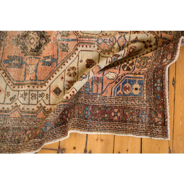 """Vintage Distressed Malayer Rug - 4'4"""" X 6'3"""" For Sale In New York - Image 6 of 12"""