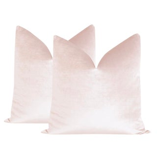 """22"""" Ballet Velvet Pillows - a Pair For Sale"""