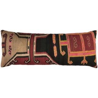 "XL Vintage Kilim Body Pillow | 18"" X 54"" For Sale"