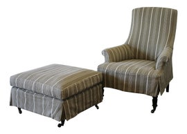 Image of Olive Chair and Ottoman Sets