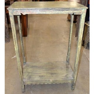 Indian Tall Wooden Entry Table Preview
