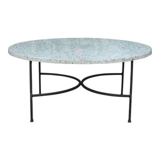 Italian Marble Top Coffee Table