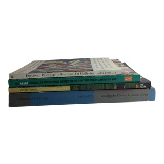 Art Collections and Exhibitions Lacma, the Clark, German Painting Books - Set of 4 For Sale