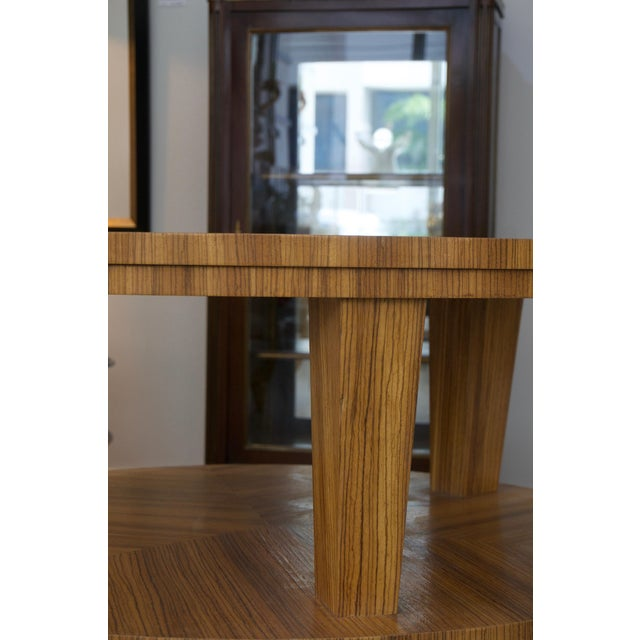 SALE - was $3,200 This stylish and chic center table takes its lines from the Art Deco period and is fabricated with...