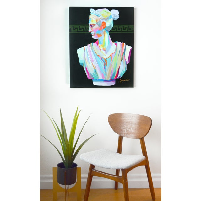 """Original acrylic painting on 3/4"""" stretched, back stapled cotton canvas. This painting features the beauty and..."""