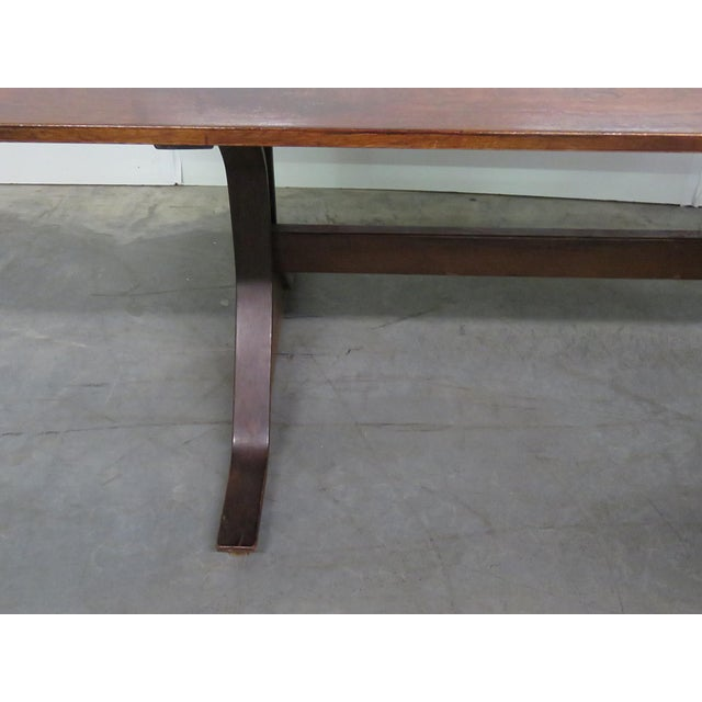 Frattini Italian Rosewood Dining Table - Image 5 of 9